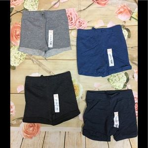 Jumping Beans boys slub shorts bundle sz 24m
